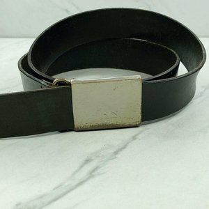 Banana Republic Black Genuine Italian Leather Belt